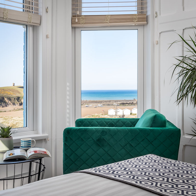Rooms with a view in Bude