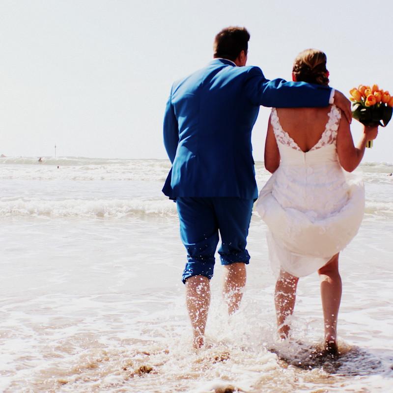 Beach weddings in Bude